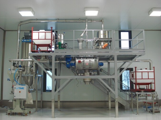 food mixing plant