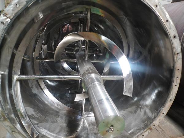 ribbon blender with cylinder vessel