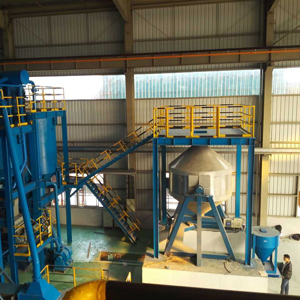 double cone blender production line