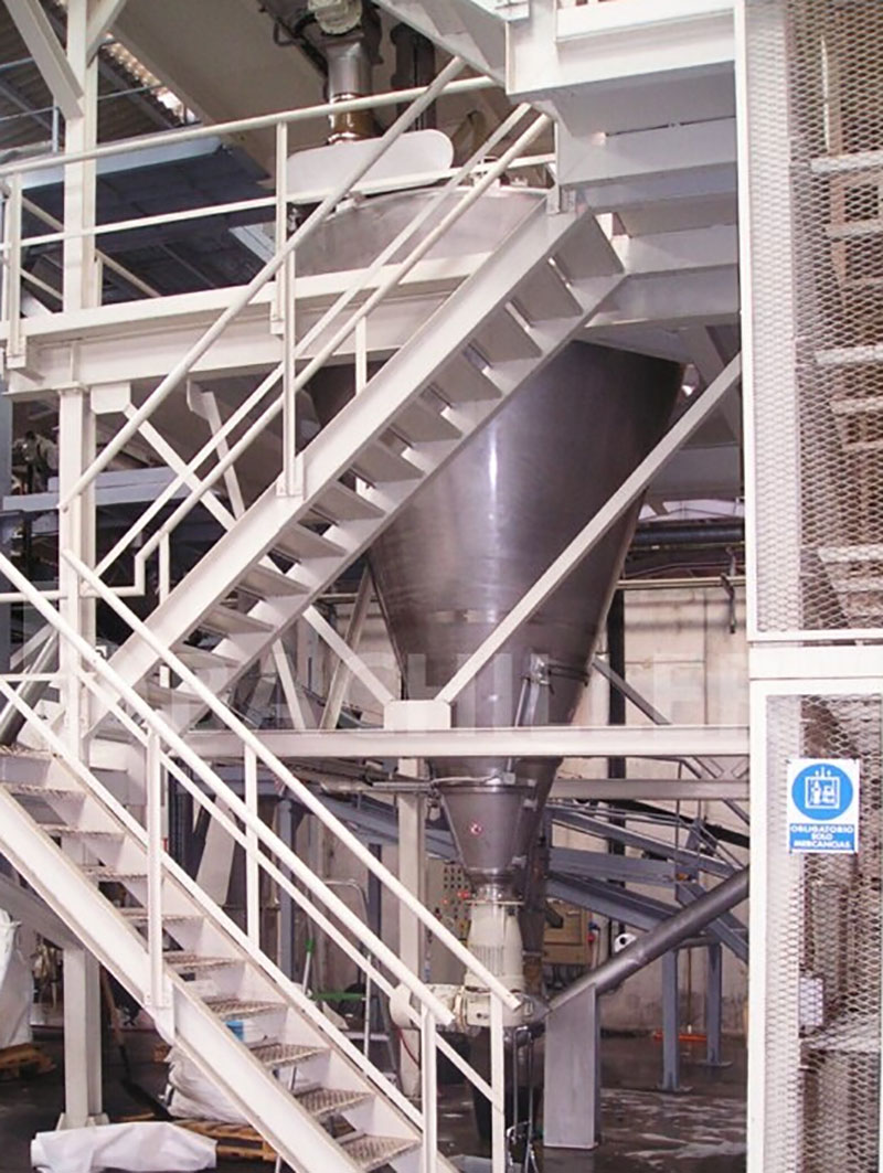 conical screw mixer wholeview