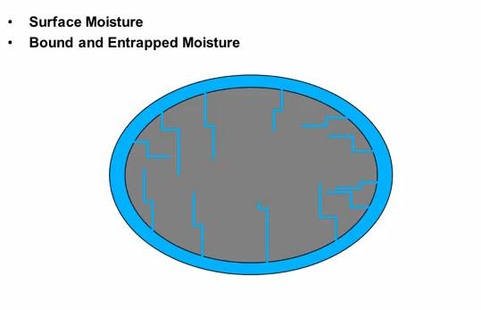 surface moisture